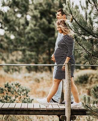 پیاده روی در دوران بارداری-برای-کاهش اضطراب و استرس حاملگی