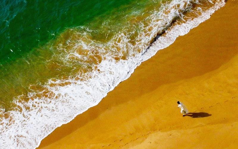 ساحل دریا کوچک چابهار