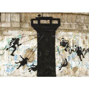 اثر بنکسی نقاشی کودکان غزه