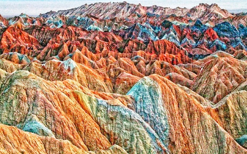 کوه های مریخی یا کوه های مینیاتوری