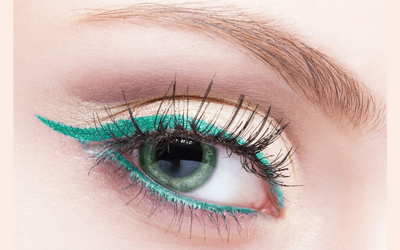 خط چشم سبز