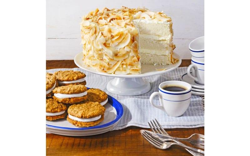 کیک نارگیلی بهشتی