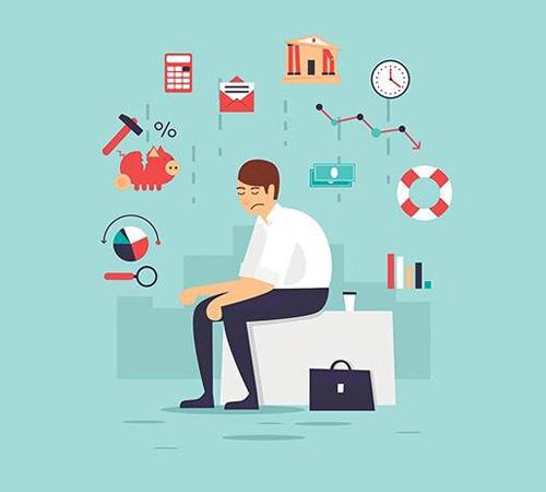 نشانه های استرس مالی