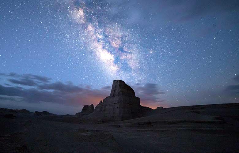 آسمان شب کلوت های شهداد