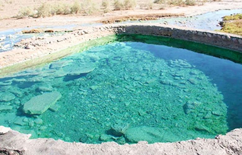 چشمه آبگرم استراباکو در لاریجان