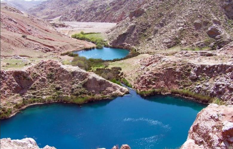 چشمه آبگرم دهلران در شهر دهلران
