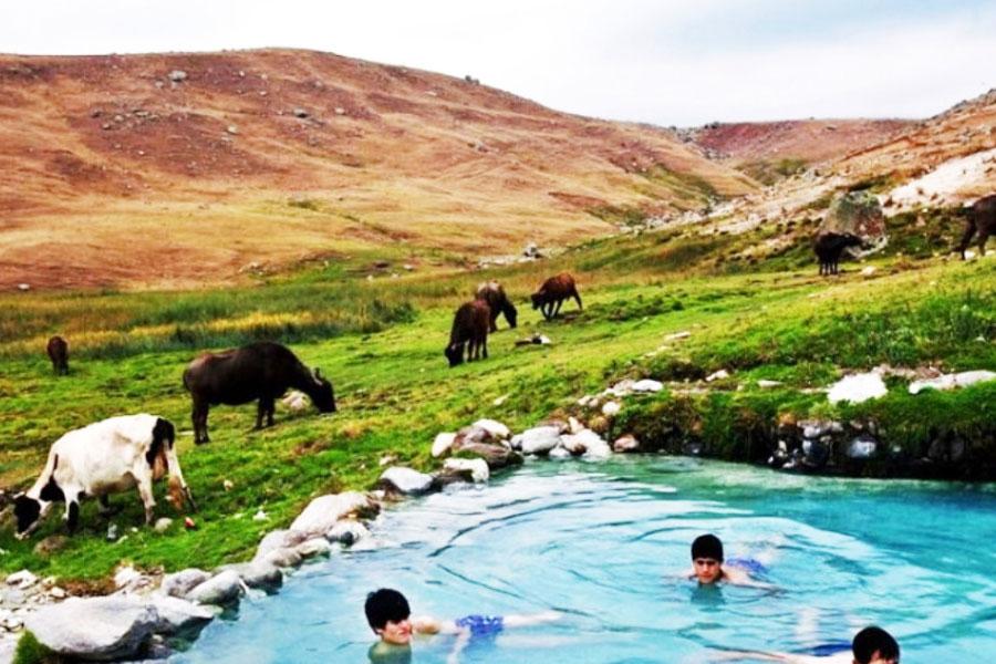 چشمه های آبگرم ایران