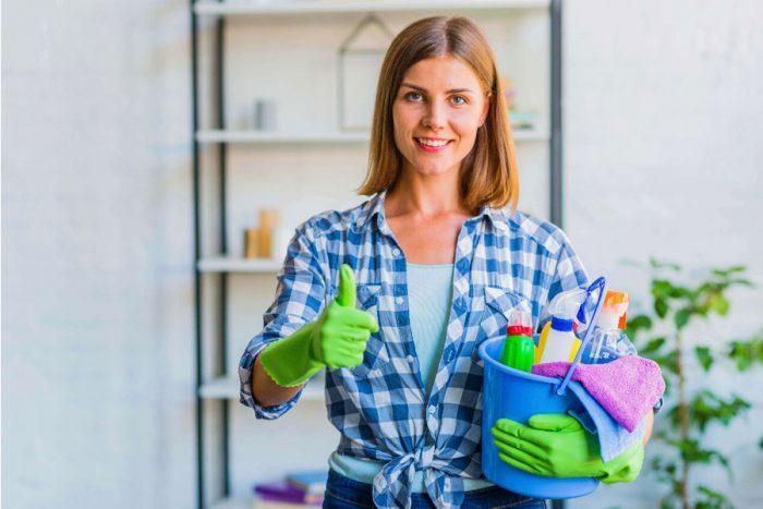 ترفندهای تمیزکاری خانه