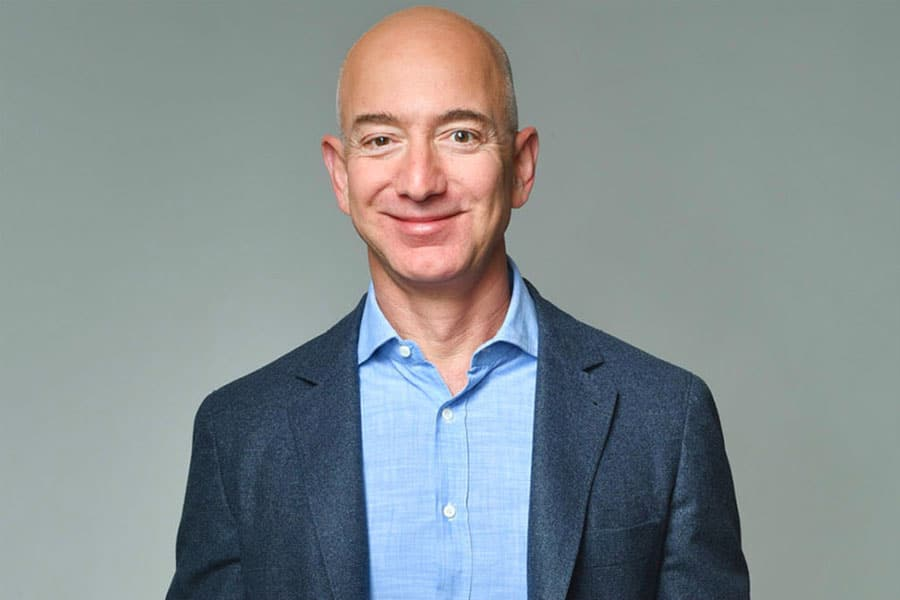 جف بزوس نخستین فرد ثروتمند دنیا