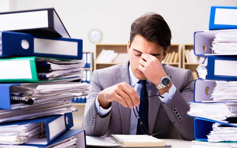 استرس روحی ناشی از درگیری شغلی