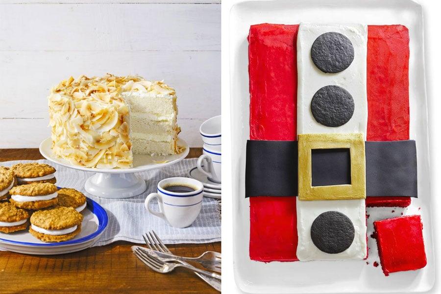 کیک مخصوص کریسمس