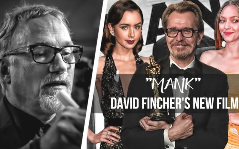 دیوید فینچر در فیلم منک (2020)