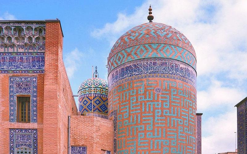 بقعه شیخ صفی الدین اردبیلی از جاذبه های گردشگری اردبیل