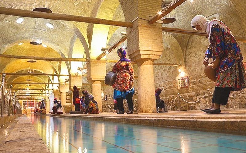 بنای رختشویخانه از جاهای دیدنی زنجان