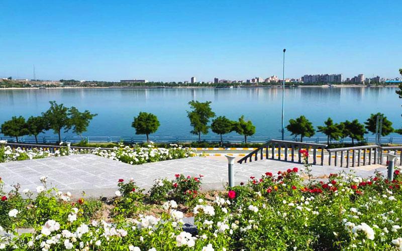 دریاچه شورابیل از جاذبه های گردشگری اردبیل
