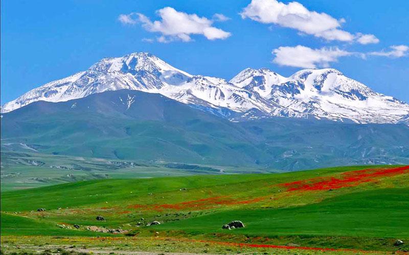 سرعین از جاذبه های گردشگری اردبیل