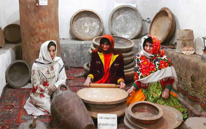 موزه مردم شناسی از جاذبه های تاریخی اردبیل