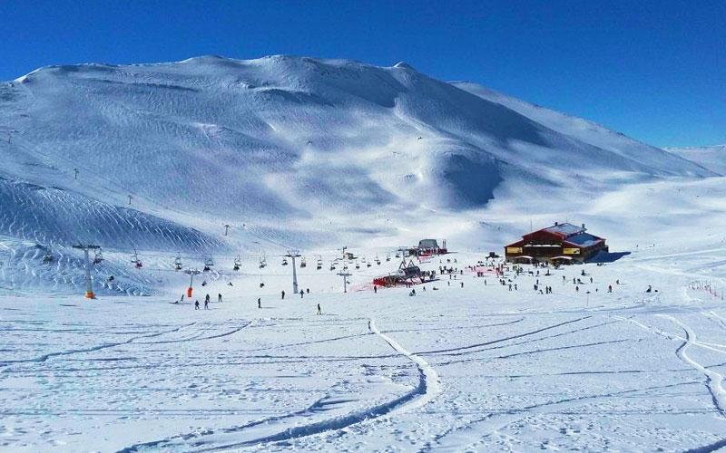 پیست اسکی آلوارس از جاذبه های گردشگری اردبیل