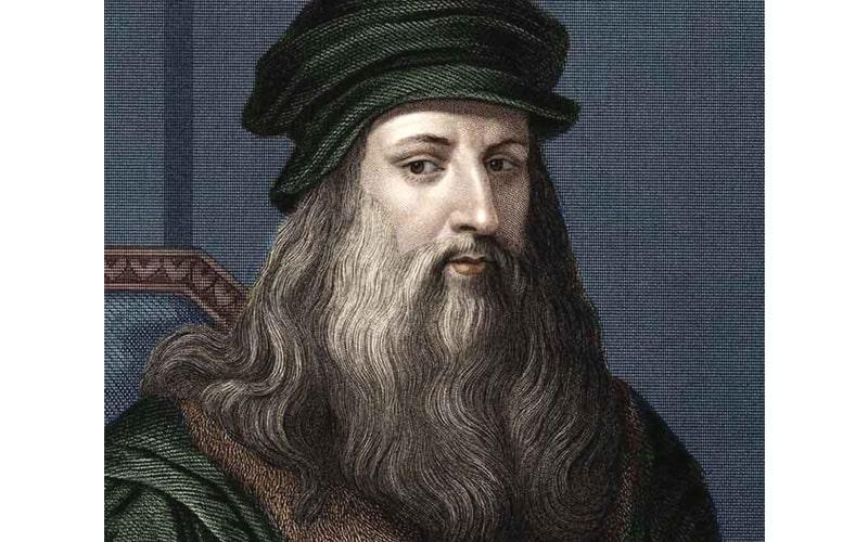لئوناردو داوینچی از افراد معروف خارجی متولد بهار