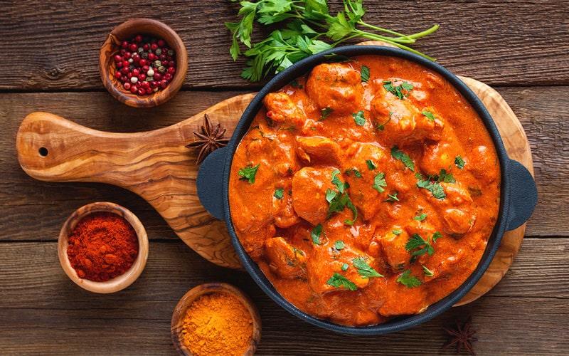 مرغ کره ای از غذاهای خوشمزه ایرانی