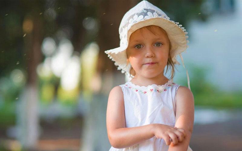 جلوگیری از نیش پشه در کودکان