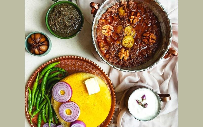 خورشت شش انداز از غذاهای خوشمزه ایرانی