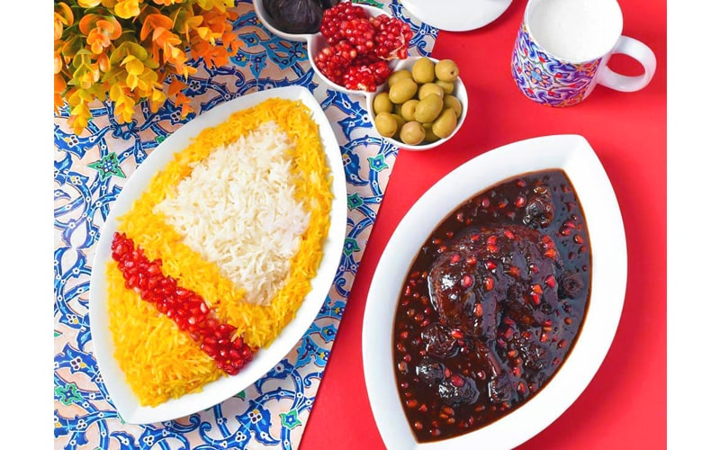 خورشت ناردون از غذاهای خوشمزه ایرانی