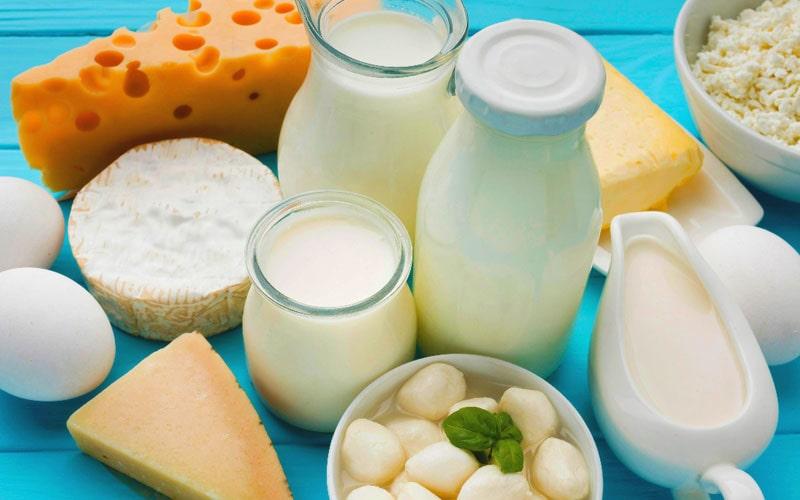 لبنیات از غذاهای تابستانی
