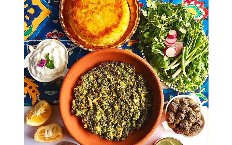 سیرابیج گیلانی از غذاهای خوشمزه ایرانی