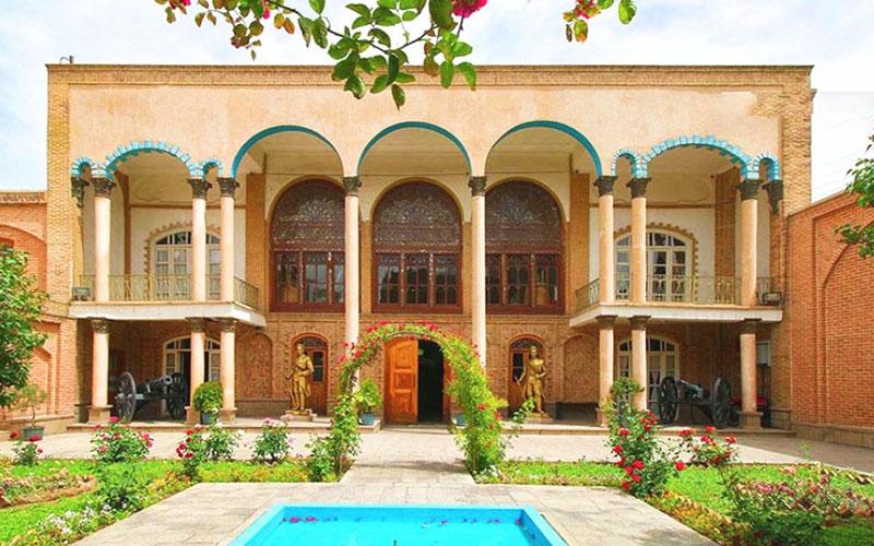 خانه مشروطه از جاهای دیدنی تبریز