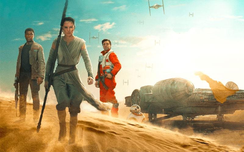 فیلم جنگ ستارگان: بیداری نیروها از پرفروش ترین فیلم های دنیا