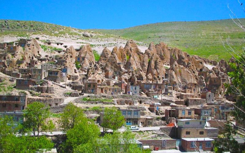 روستای کندوان از جاهای دیدنی تبریز